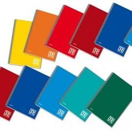 Blasetti One Color - Taccuino - rilegatura a spirale - A5 - 60 fogli / 120 pagine - 1 rigo -